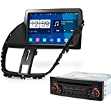 """8"""" HD Android 4.4.4 GPS Capacitive Screen DVD Player Car Navigation Stereo For 2009 Peugeot 207"""