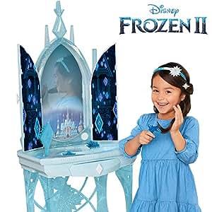 Frozen 2 206844 Disney Elsa S Enchanted Ice Vanity Includes Lights Iconic Story Moments
