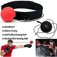 Xnature Boxen Training Ball Reflex Fightball Speed Fitness Punch Boxing Ball mit Kopfband, Trainingsgerät Speedball für Boxtraining Zuhause und Outdoor
