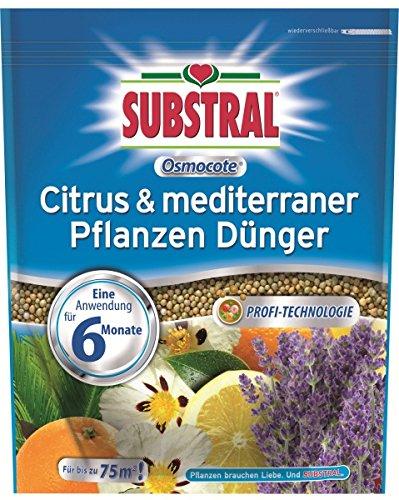 Scotts Miracle-Gro Sac SUBSTRAL Engrais osmocote® Citrus & plantes méditerranéen – 1.5 kg