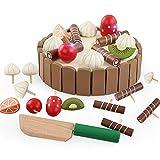 YGMDSL Spielzeuge Kind Simulation Magnetisch Mini Kuchen Haus