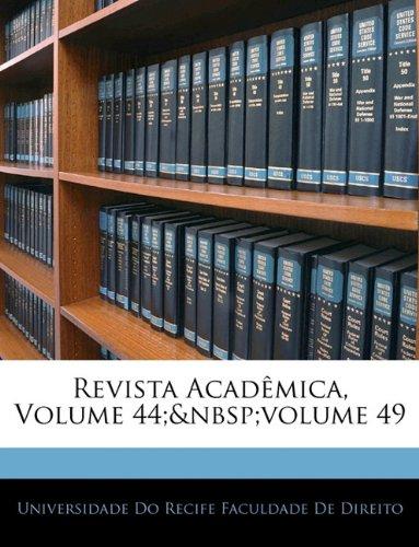 Revista Academica, Volume 44; Volume 49