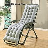 Coussin d'assise en tissu pour fauteuil relax chaise longue Soulage les douleurs de dos et la pression Doux et confortable Idéal pour bureau à domicile et lecture(Ne comprend pas les chaises)