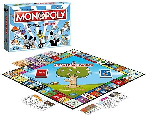 Winning Moves WIN45144 Edition-Das beliebteste Brettspiel im Cartoon-Style für die ganze Familie - Monopoly Christmas