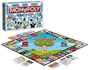 Winning Moves 45144Monopoly Ruthe Edition de El Más Popular de Tablero de Estilo Dibujos Animados para Toda la Familia Juego de Sociedad.