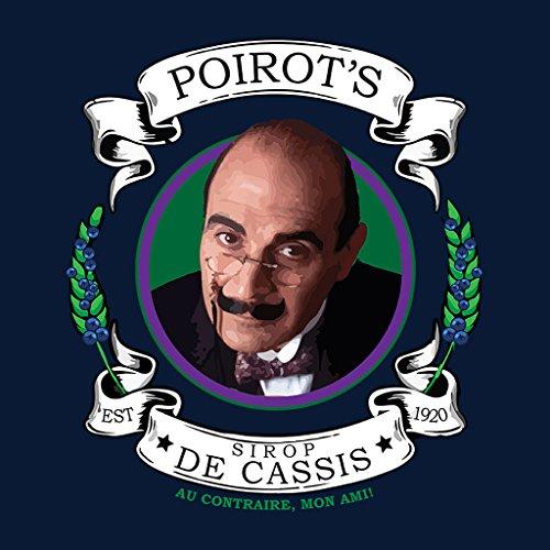 Poirots Sirop De Cassis Women's Hooded Sweatshirt Navy blue