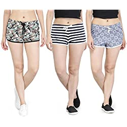 KOTTY Every night Sleep shorts in 3pc Set