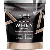 Marque Amazon - Amfit Nutrition Advanced Whey protéine de lactosérum saveur Cookies & Cream, 64 portions,   1980 g