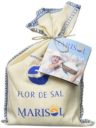 Französisch Olivenöl (Flor de Sal do Algarve - 250 g Stoffbeutel)