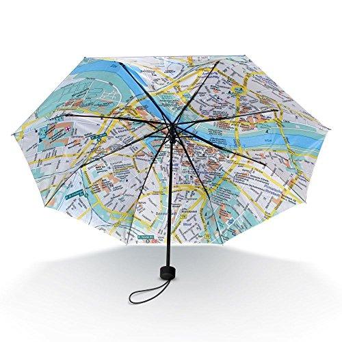 """Taschen-Regenschirm """"Dresden Rainmap"""""""