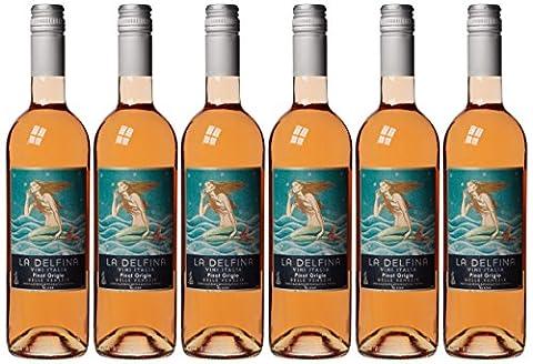 La Delfina Pinot Grigio Blush Delle Venezie IGT 2014 Wine