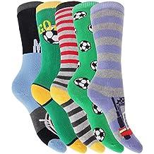 Calcetines de botas de agua para niños (paquete de 5 pares)