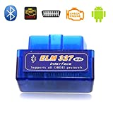 Best Auto Scanner Tools - Mini ELM327 OBDII OBD2 Bluetooth Car Diagnostic Scan Review