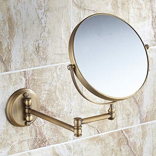 LUDSUY Antike Schönheit Spiegel Badezimmer Kosmetikspiegel Einziehbare Wand Double Mirror 8