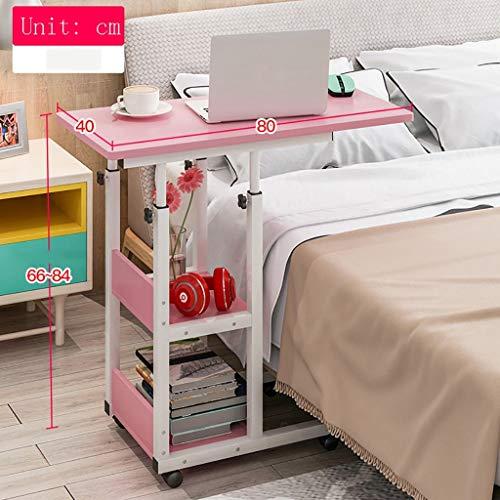 Computer Desk Laptop Schreibtisch für Bett, Bett Schreibtisch | Frühstücks-Serviertablett, Metallklammer-Werktisch, a -