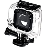 Black Replacement Underwater Waterproof Protective Housing Case For GoPro Hero 4 Sports Camera Hero 3+ Action Camera