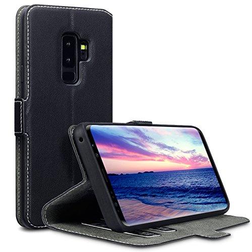 Coque Samsung S9 Plus, Terrapin Étui Housse en Cuir Ultra-mince Avec La...