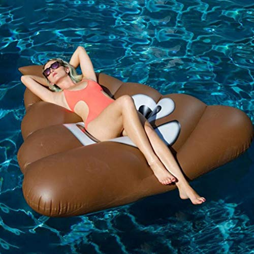 LIJUEZL Summer Flating Cartoon Hocket Row, Beach Swiming Pool Float für Kinder-und Erwachsenenwasserspielzeug