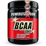 BCAA CAPS - 500 Kapseln - essentielle Aminosäuren L-Leucin, L-Isoleucin, L-Valin, (L-Alanin) plus VB6 - im erprobten Verhältnis 2:1:1:0,5 - für intensive sportliche Belastungen - Pharmaqualität - deutsche Herstellung