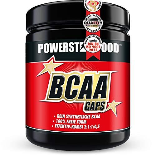 BCAA CAPS - 500 Kapseln - essentielle Aminosäuren L-Leucin, L-Isoleucin, L-Valin, L-Alanin plus VB6 - im erprobten Verhältnis 2:1:1:0,5 - für intensive sportliche Belastungen - Pharmaqualität - deutsche Herstellung