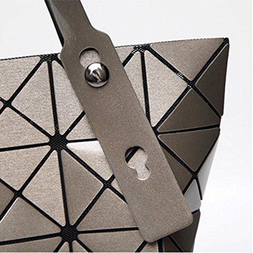 Varietà Spalla Pieghevole Delle Donne Della Borsa Geometria Bag Laser Guncolor