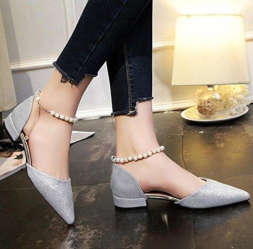 Wort-style Gürtelschnalle Sandalen Frauen wulstige Schuhe erhöht A