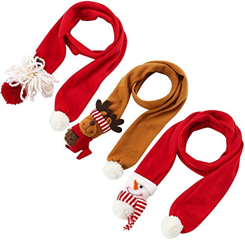 Back To School Outfit - 2019 Fashion Warm Old Man Snowman Elk Shape Cute Children 39 S Christmas Scarf Gift - Chains Quality Bottle Elegant Preschool Indian Bridal Natural Mermaid Pens Air