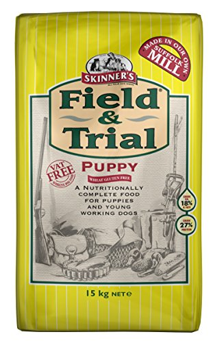 Skinners Field & Trial Complete Dry Wheat Gluten Free Puppy Food, 2.5 kg