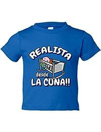 Camiseta niño Realista desde la cuna Real Sociedad fútbol