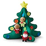 Hallmark Keepsake QGO1707 Keepsake Kids Tabletop Plush Christmas Tree With Buttons by Keepsake Ornaments