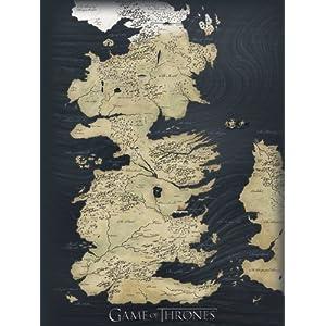 Game Of Thrones Pyramid International WDC90141 Mapa de Juego de Tronos (Material Lona, 60 x 80 cm) 5