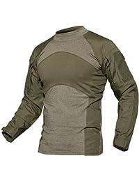 5e7f811e18fa Amazon.co.uk: Green - Long Sleeve Tops / Tops, T-Shirts & Shirts ...