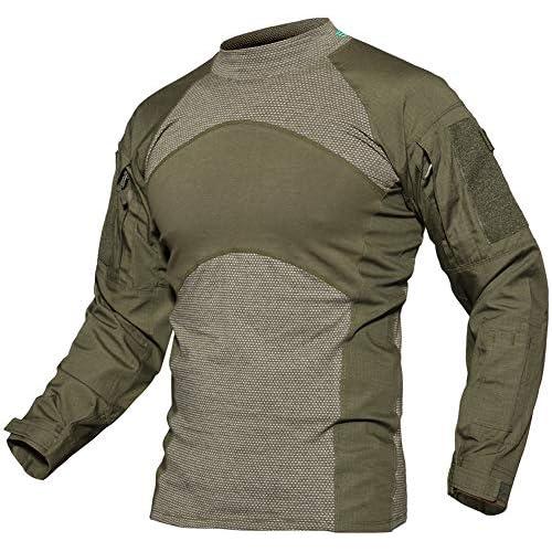 519t6LOwNIL. SS500  - TACVASEN Men's Military Combat Crew Neck Long Sleeve Camo T-Shirt