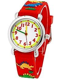 El Reloj de Niños de Vinmori, Reloj de Cuarzo con Dibujos Animados Bonitos de 3D