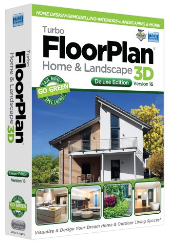 Turbo FloorPlan Home & Landscape Deluxe V16 (PC)