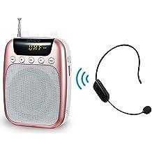 UHF Amplificador de voz (10 W) con 2600 mAh batería de litio con el