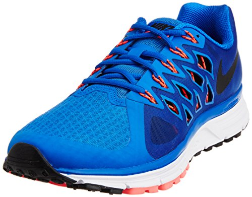 Nike Men's Zoom Vomero 9 Hyper Cobalt,Black,Hyper Punch,Reflect Silver  Running Shoes -8 UK/India (42.5 EU)(9 US)  available at amazon for Rs.8246