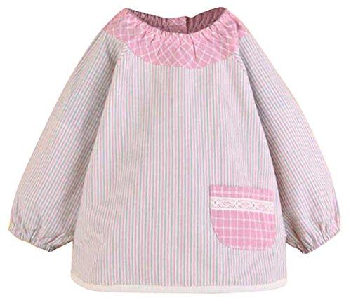 happy-cherry-nuevo-bluson-impermeable-de-mangas-largas-delantal-de-jugar-y-comer-proteccion-de-ropa-