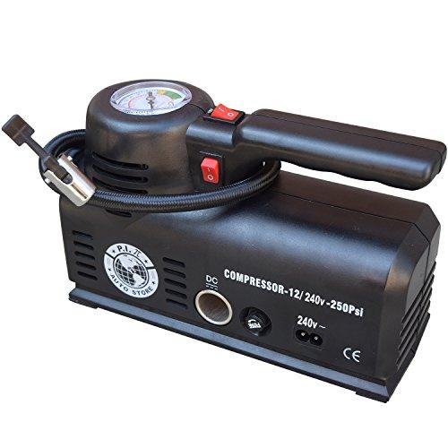 pi-auto-store-tyre-inflator-ys-2052-dual-power-12v-dc-car-240v-ac-mains-portable-air-compressor-with