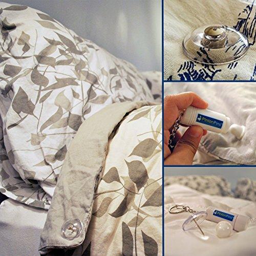 Pinion Pins Magnetische Befestigungssystem (8er Set) Bettdecken-clip, Befestigungen, Dekoration und vieles mehr! (Bettdecke Bettdecken)