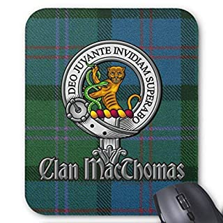Wristband Macthomas Tartan & Badge Mouse Pad Computer Accessories Anti-Friction 18X22
