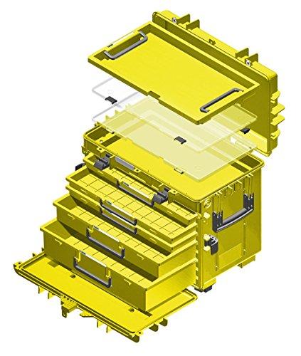 Stahlwille Werkzeug-Trolley leuchtgelb, 13217 LGE - 2
