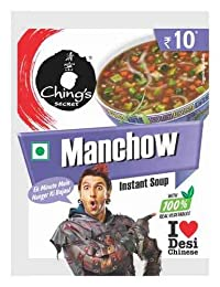 Ching's Secret Manchow Instant Soup (Pack of 20)