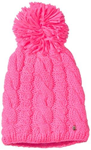CMP , Cappello di maglia Bambina, Rosa (Pink Fluo), Taglia unica, Rosa (Rosa Fluo), Taglia unica