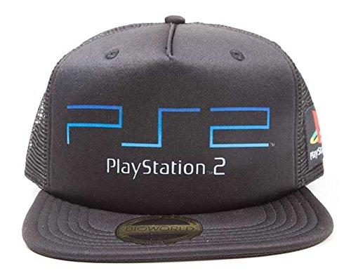 Produktbild Playstation Cap PS 2 Original Logo Mütze Snapback Trucker Cap Schirmmütze Kappe Sony PS 1 2 3 4