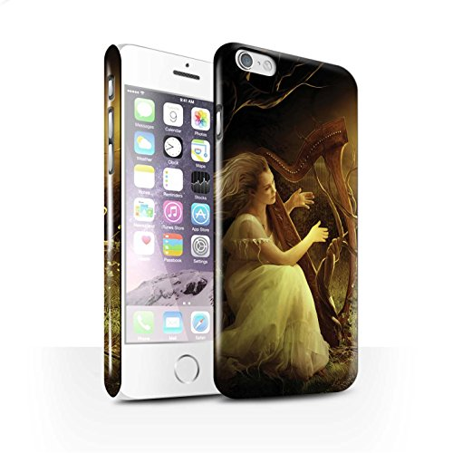 Officiel Elena Dudina Coque / Clipser Brillant Etui pour Apple iPhone 6 / Pack 6pcs Design / Réconfort Musique Collection Mélodie du Silence