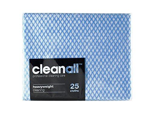 cleanall jcc25b carrello professionale, panno, pesante, colore: blu (Confezione da 24)