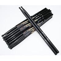 1 Paar Drumsticks 5A Schwarz