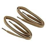 Collonil Premium Schnürsenkel Flach in verschiedene Farben und Längen (90 cm, Beige)