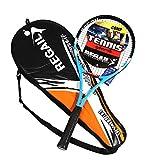 Anself Carbon Fiber Aluminium Tennis Racquets Tennis Racket Equipped with Bag Tennis Grip for Training